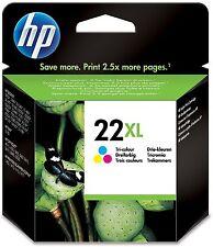 HP 22 XL cartucho multicolor (c9352ce)