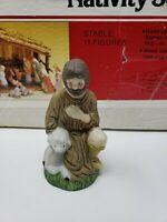 Vintage Sears Nativity Scene Replacement Part - Joseph Father of Jesus