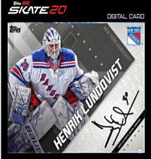 19-20 TOPPS SIGNATURE HENRIK LUNDOVIST Topps NHL Skate Digital Card