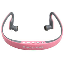 Sport Wireless Earphones Headphones Music MP3 Player TF Card FM Radio /ND