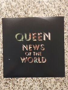 News Of The World LP Picture Disc Numbered - Queen Freddie Mercury