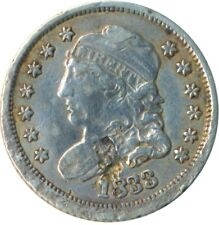 More details for united states 1833 silver half dime 5 cents liberty    #wt5301