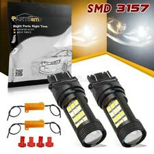 Partsam 3157 LED Switchback 2835 SMD Dual Color White Yellow Turn Signal Light