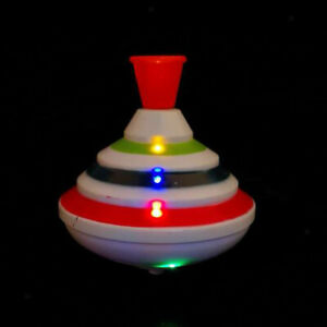 Magic Gyroscope Gyro Spinning Top Toy Kids with LED Flash Light Music