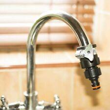 Universal Wasserhahn Schlauch Adapter Fassung Schnell Mischer für Küche Garten