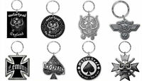 Motorhead Keyring Keychain Lemmy England Warpig band logo new Official