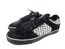 New Draven Argyle Mens Suede / Canvas Low Top Skateboard Shoes Size 10