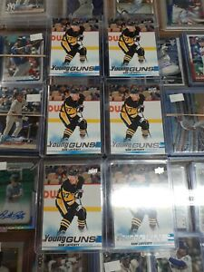 SAM LAFERTY YOUNG GUNS 6 CARD ROOKIE LOT PENGUINS