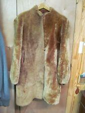 Vintage Laskin Mouton Dyed Lamb Fur Coat Shearling Sheared Women's Jacket Bell S
