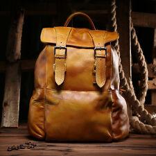 Womens Genuine Leather Shoulder Backpack Handbag Satchel Fashion Travel Bag
