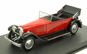 Miniature voiture auto 1:43 rio Bugatti 41 Royale Torpedo Dos Nu 1927 Modélisme