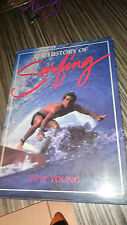 HISTORY OF SURFING NAT YOUNG AUSTRALIAN SURFING GUIDE SURF SURFER 1983 1ST ED