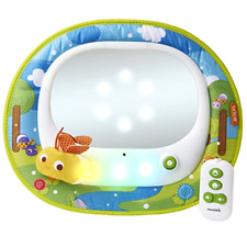 Baby In Sight Car Mirror Brica Firefly with LED Lights and Music Crash Tested