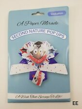 A Paper Miracle Pop Up Graduation Greeting Card Second Nature Pop Ups