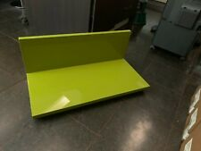 designer hulsta  lime green floor shelf amazing quality hi gloss