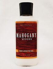 1 Bath & Body Works MAHOGANY WOODS FOR MEN Body Lotion Moisturizer Cream