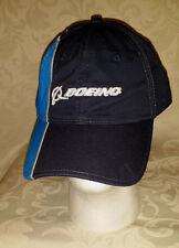 Boeing Aircraft Baseball Hat Cap Adjustable Blue Stripe Aviation Cotton Hat