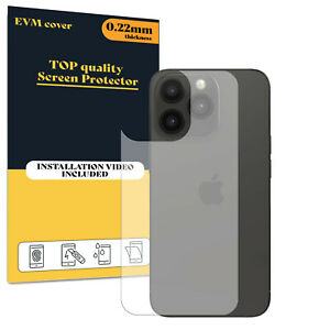 Back Protector Cover For Apple iPhone 13 Pro TPU FILM - Clear