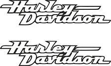 2 x Harley Davidson Logo Viele Farben Größe 15 cm x 3,5 cm ANSEHEN