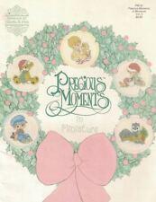 Gloria & Pat Precious Moments in Miniature ORNAMENTS PM-35 Cross Stitch Booklet