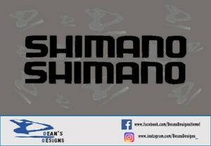 Shimano bicycle vinyl decal stickers