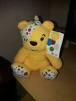Pudsey Bear Soft Toy Tag