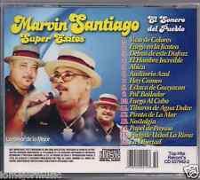 RARE cd SALSA Marvin Santiago VASOS DE COLORES hombre increible AUDITORIO AZUL