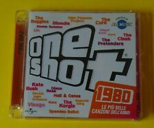 ONE SHOT 80. ONE SHOT 1980. DOPPIO 2 CD CON BUGGLES BLONDIE VISAGE THE CURE !!!!
