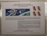 BEP souvenir card B 51 Stamp Expo 1981 1967 13ï¾¢ John F. Kennedy stamp