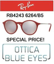 Occhiali da sole RAYBAN RB 4243 6264/B5 Sunglasses Ray Ban Special Price RED
