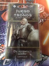 De auténtico acero / Poniente (Juego de tronos LCG 2ª Edición)