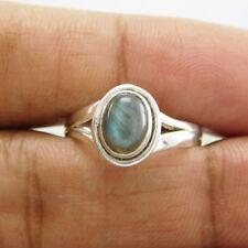 Hot Selling Beautiful 925 Sterling Silver Labradorite Ring SZ-9 utr-319