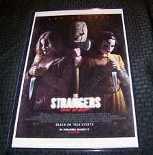 The Strangers 2 Prey at Night 11X17 Movie Poster