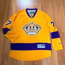 REEBOK NHL LOS ANGELES KINGS JEFF CARTER #77 THROWBACK PREMIER HOCKEY JERSEY S