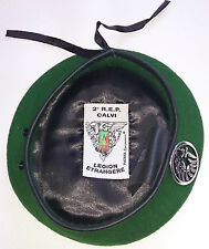 Béret Vert avec insigne TAP PARA 2°REP LÉGION ÉTRANGÈRE Taille * Size S / TT 52