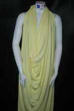 Bamboo Cotton Jersey Knit Fabric Eco-Friendly Luxurious t-Shirt Material Yellow