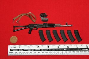 DamToys 1/6th Scale Armed Forces Russian Federation AK74M Assault Rifle 78078S