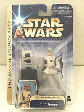 Star Wars Action Figure 2004 Star Wars Saga #01 - Hoth Trooper - Hoth Evacuation