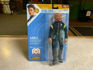 "2020 Mego Star Trek Discovery CAPTAIN SARU 8"" Action Figure MOC"