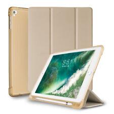 """Для iPad 6 -го поколения 9.7"""" умный чехол силиконовый чехол с Apple держатель для карандаша"""