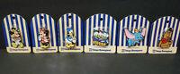 Set of 6 Vintage Tokyo Disneyland Pins - Mickey, Minnie, Donald, Dumbo, Winnie +