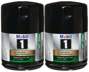 Mobil 1 (M1-206A) Extended Performance Oil Filter (Pack of 2)