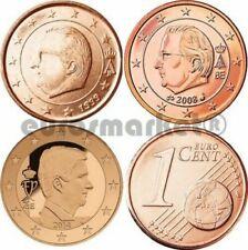 Pièces euro de Belgique pour 1 cent