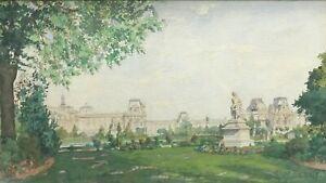 BENOIS Albert Nikolayevich (1852-1936) Russian painter - Watercolor