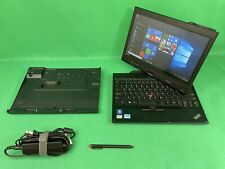 Lenovo ThinkPad X230 Tablet Touch Laptop i5 120GB SSD 8GB RAM + Dock Station