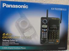 Digital Cordless Phone - Panasonic Kx-Tg2235B - 2.4Ghz - Talking Caller Id Black