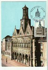 Carte Maximum Hôtel de Ville  SAINT QUENTIN (02) (du 8/07/1967)