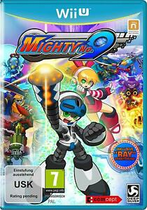 Mighty No 9 - Ray Edition (German Cover) English Gameplay For PAL Wii U (New)