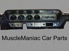 1965 GTO DASH ORIGINAL STYLE  INSERT SWIRLED REAL ALUMINUM 65