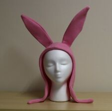 Light Pink Louise Pink Bunny Ears Hat Bob's Burgers Cosplay Costume Halloween